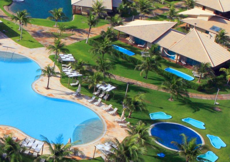 Circulando no Resort Dom Pedro Laguna