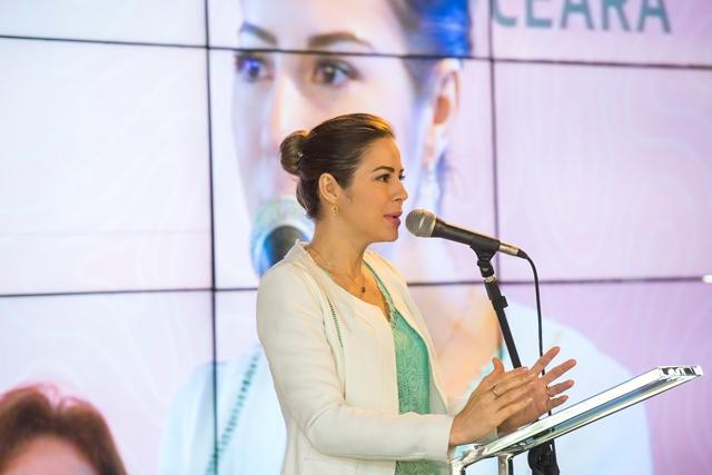 A primeira dama do estado do Ceará Onélia Santana, testa positivo para o CONVID-19