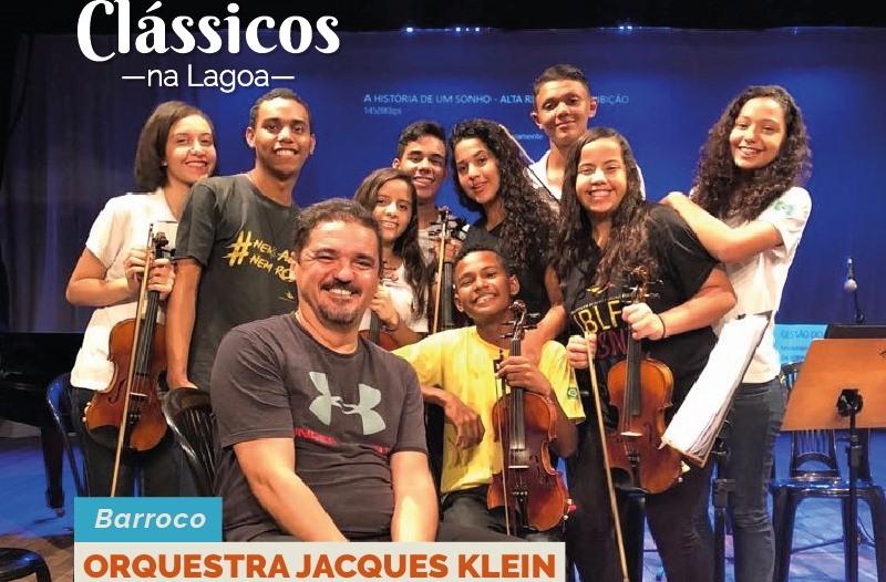 Orquestra Jacques Klein se apresenta no Clássicos na Lagoa