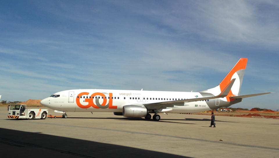 A Gol transportou 1,12 milhão de passageiros em setembro deste ano