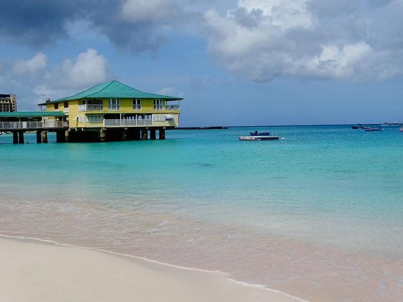 Ilha paradisíaca chamada Barbado, no Caribe