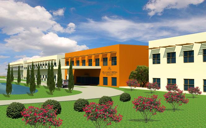 O Vila Galé Sintra, será inaugurado amanhã(12)