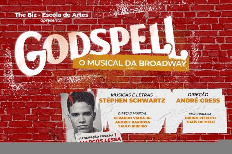 Musical da Broadway, GODSPELL, com exclusividade no Via Sul