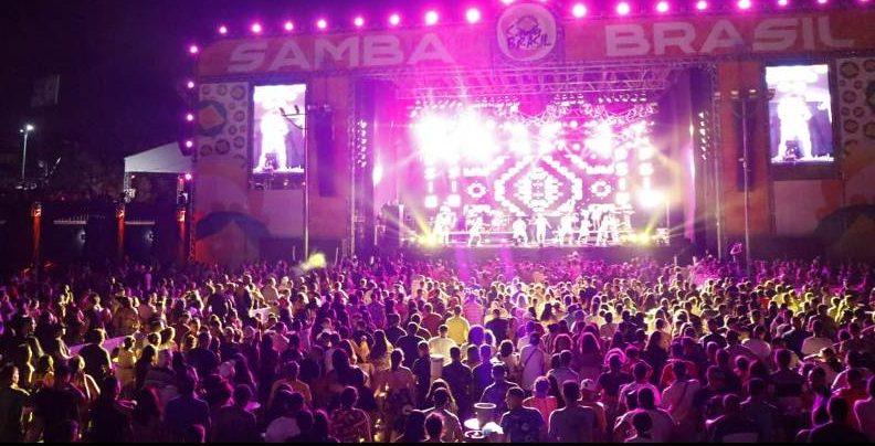 Um dos eventos mais esperados do ano em Fortaleza OSambaBrasil