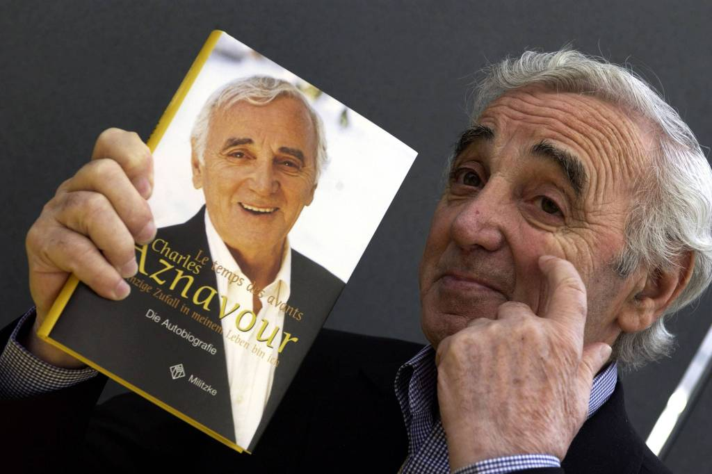 Cantor Charles Aznavour Morre aos 94