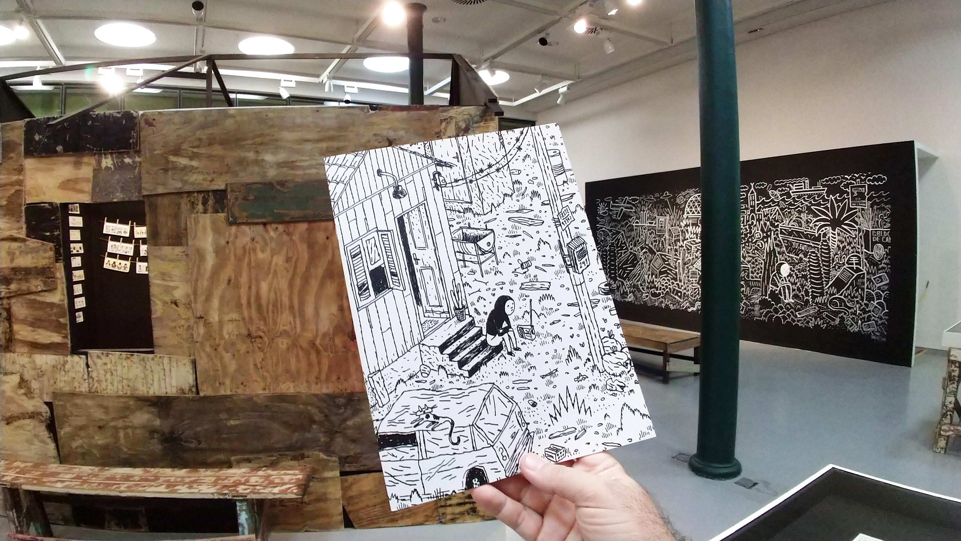 Exposição de Rafael Sica na CAIXA Cultural Fortaleza