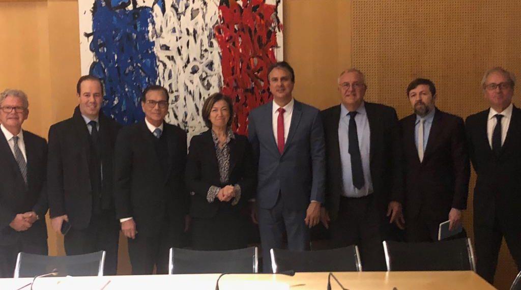 Camilo Santana e Air France/KLM comemoram sucesso de HUB aéreo