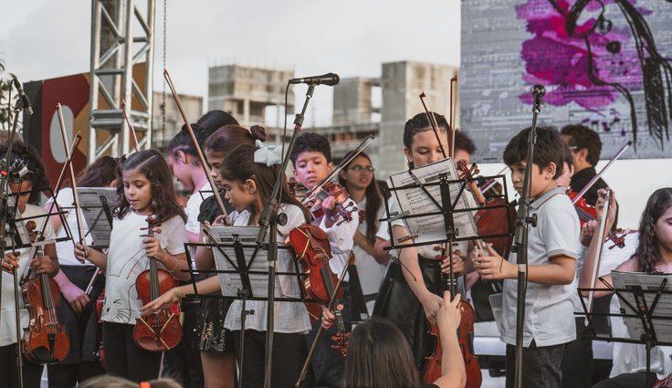 Concerto Natalino doClássicos na Lagoa – leva mais de 100 músicos