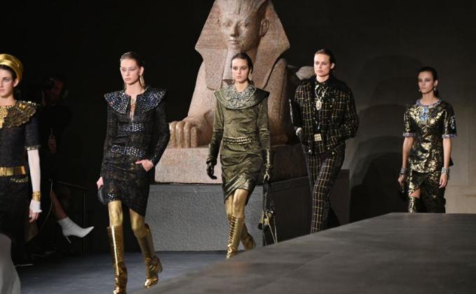 Desfile pré-outono da Chanel em Nova York