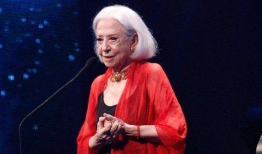 Fernanda Montenegro recebe homenagem no Prêmio Cesgranrio de Teatro