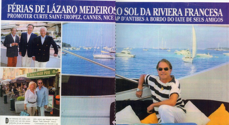 O anfitrião da Revista CARAS no estado do Ceará