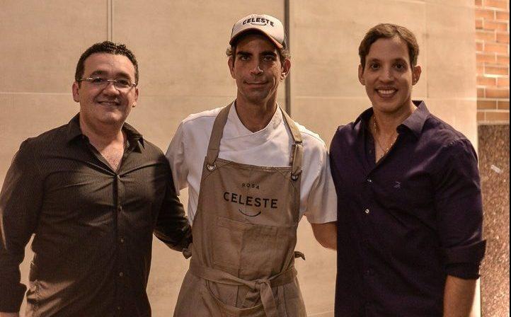 Restaurante Rosa Celeste une gastronomia contemporânea com ambiente moderno