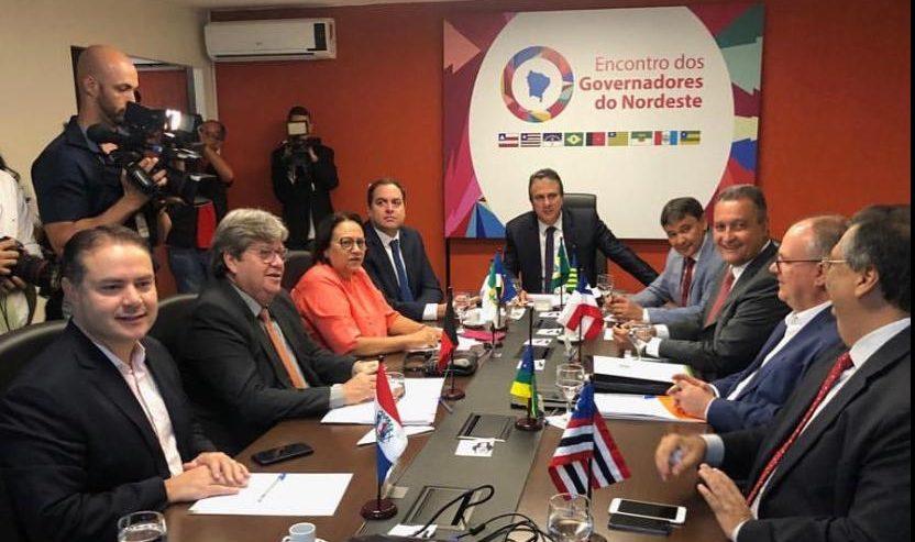 Camilo Santana participa da Reunião dos governadores do Nordeste