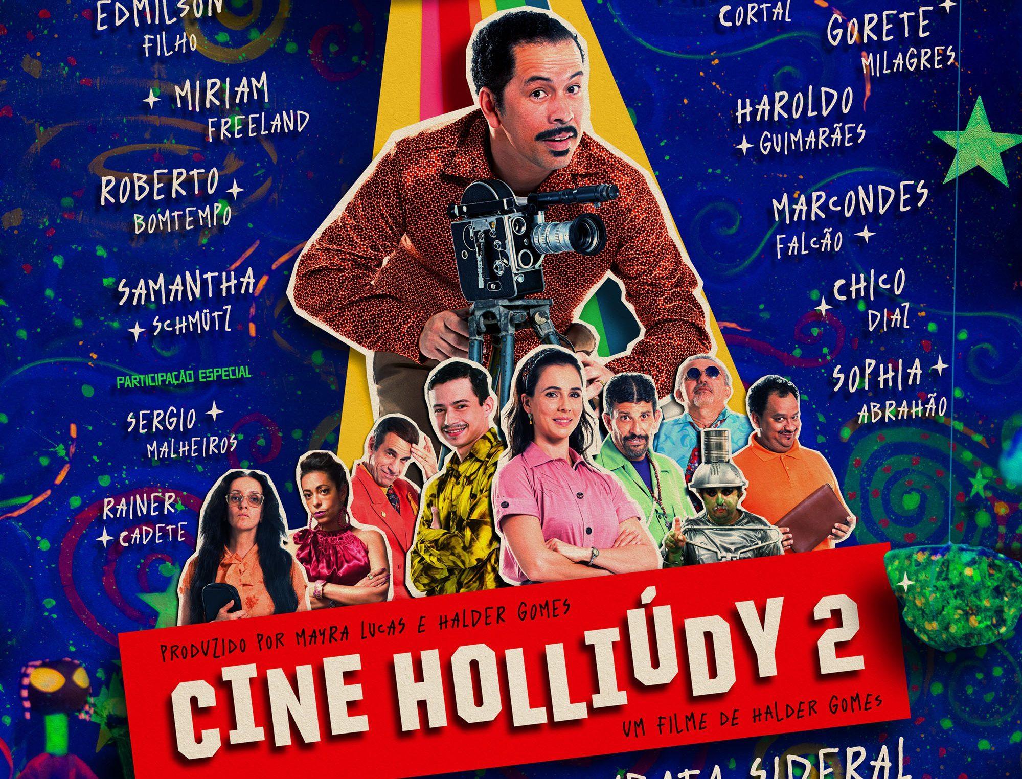 'Cine Holliúdy 2 – A Chibata Sideral', estreia nesta quinta (21)