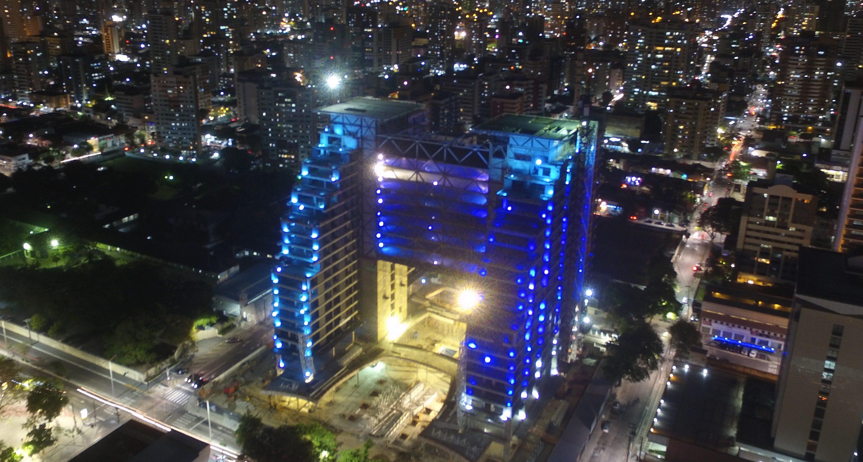 As torres gêmeas do Ceará: A entrega do 'BS Design' foi um sucesso