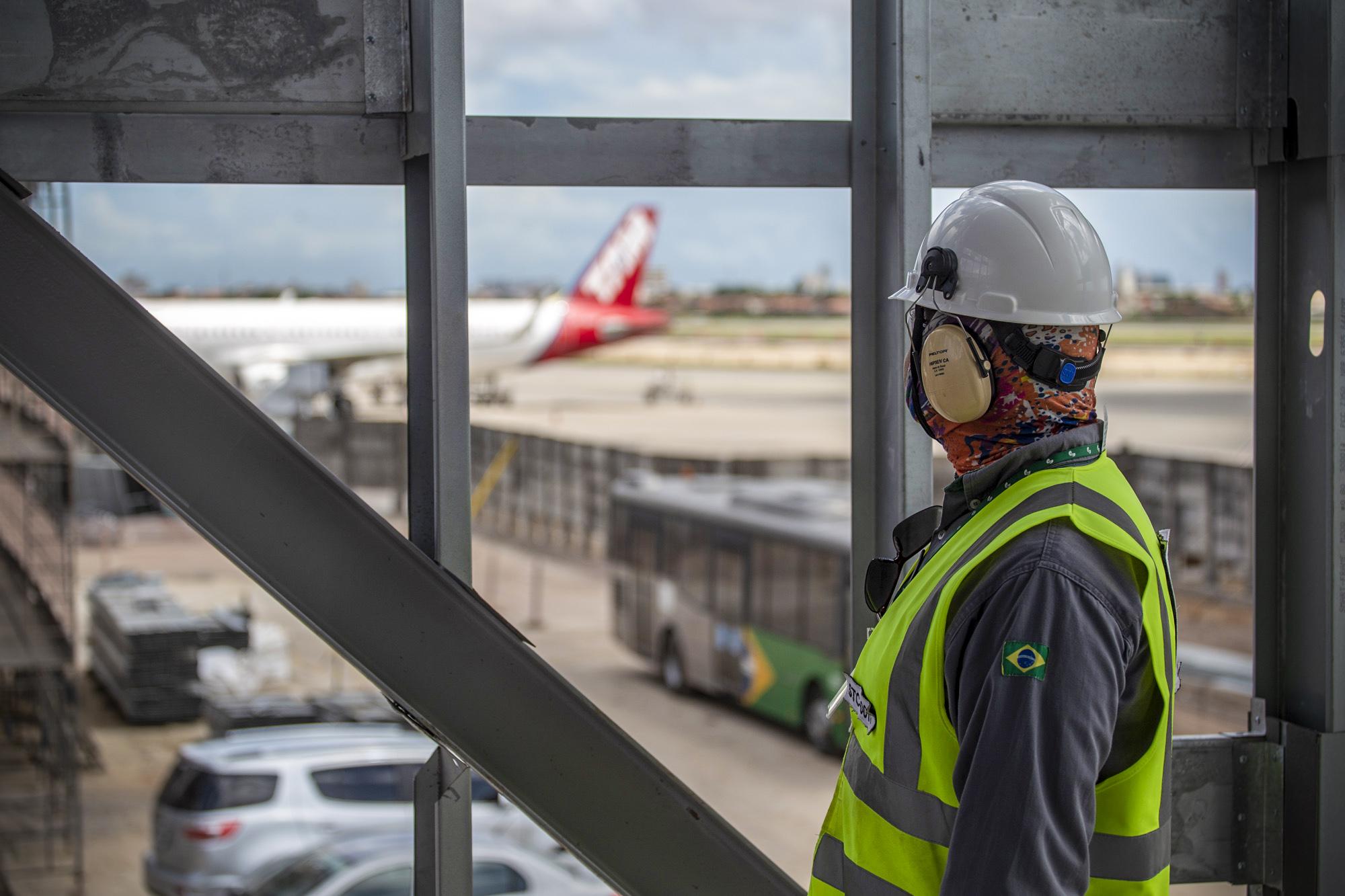 Com 60% da obra concluída, Aeroporto de Fortaleza se prepara para receber até 20 milhões de passageiros por ano