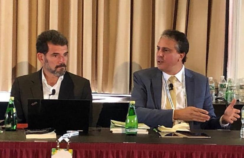 Governador do Ceará, participa de coferência em Harvard