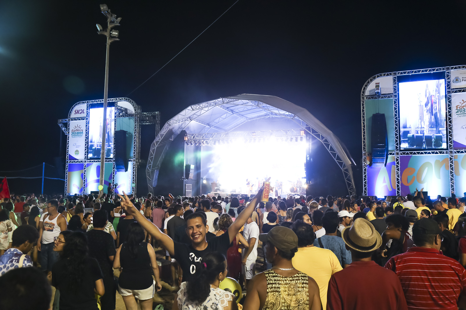 Fortaleza comemorou 293 anos, com uma extensa programação cultural