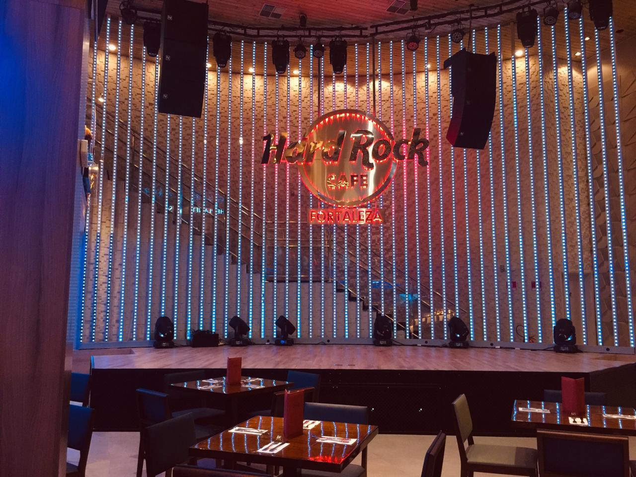 Hard Rock Cafe Fortaleza tem programação musical para os amantes do Rock
