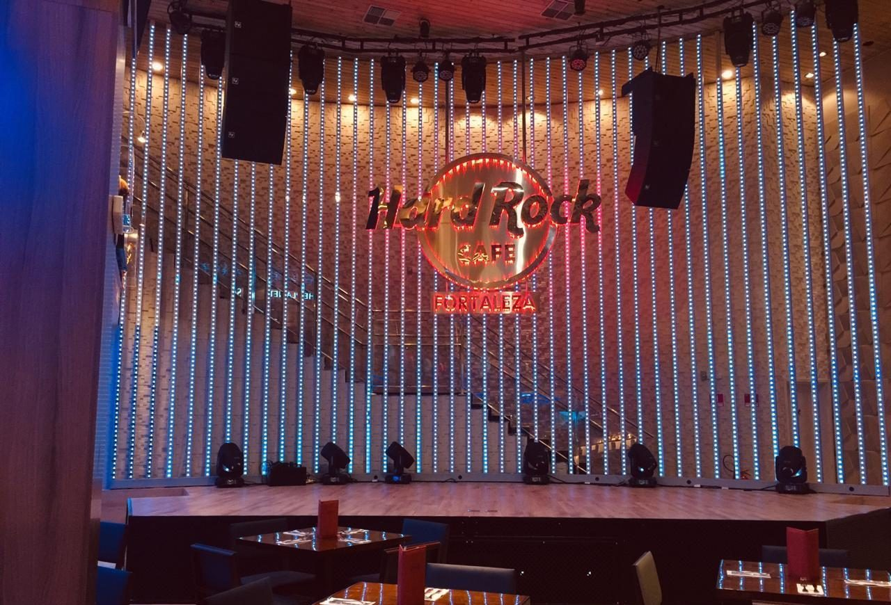 Confira a programação musical do Hard Rock Cafe Fortaleza de 16 a 19 de maio