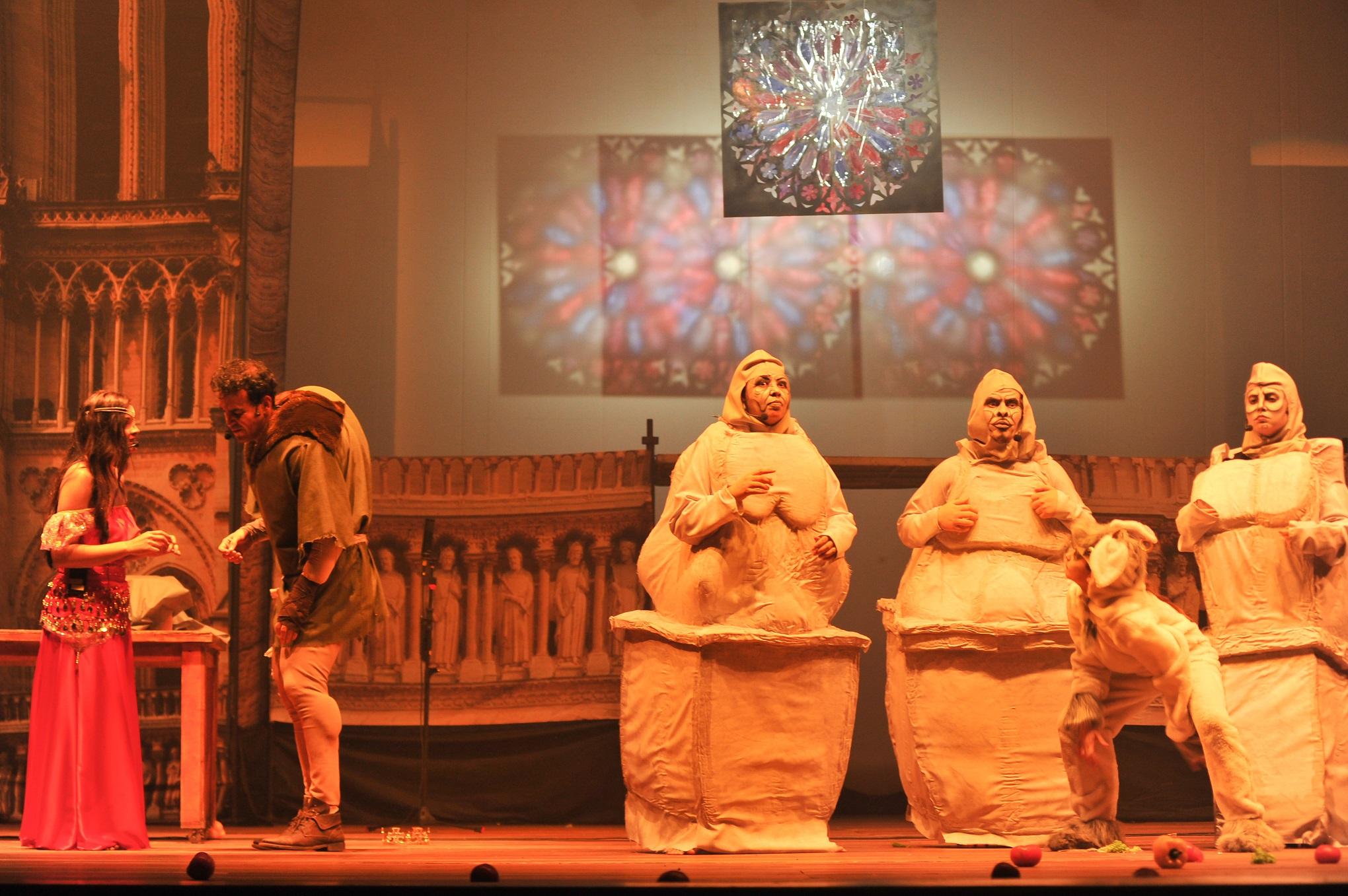 """Musical """"O Corcunda de Notre Dame"""" tem sessão única no Cineteatro São Luiz"""