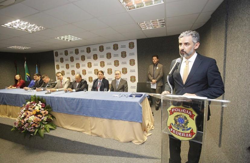O delegado Dennis Cali é o novo Superintendente Regional da Polícia Federal no Ceará