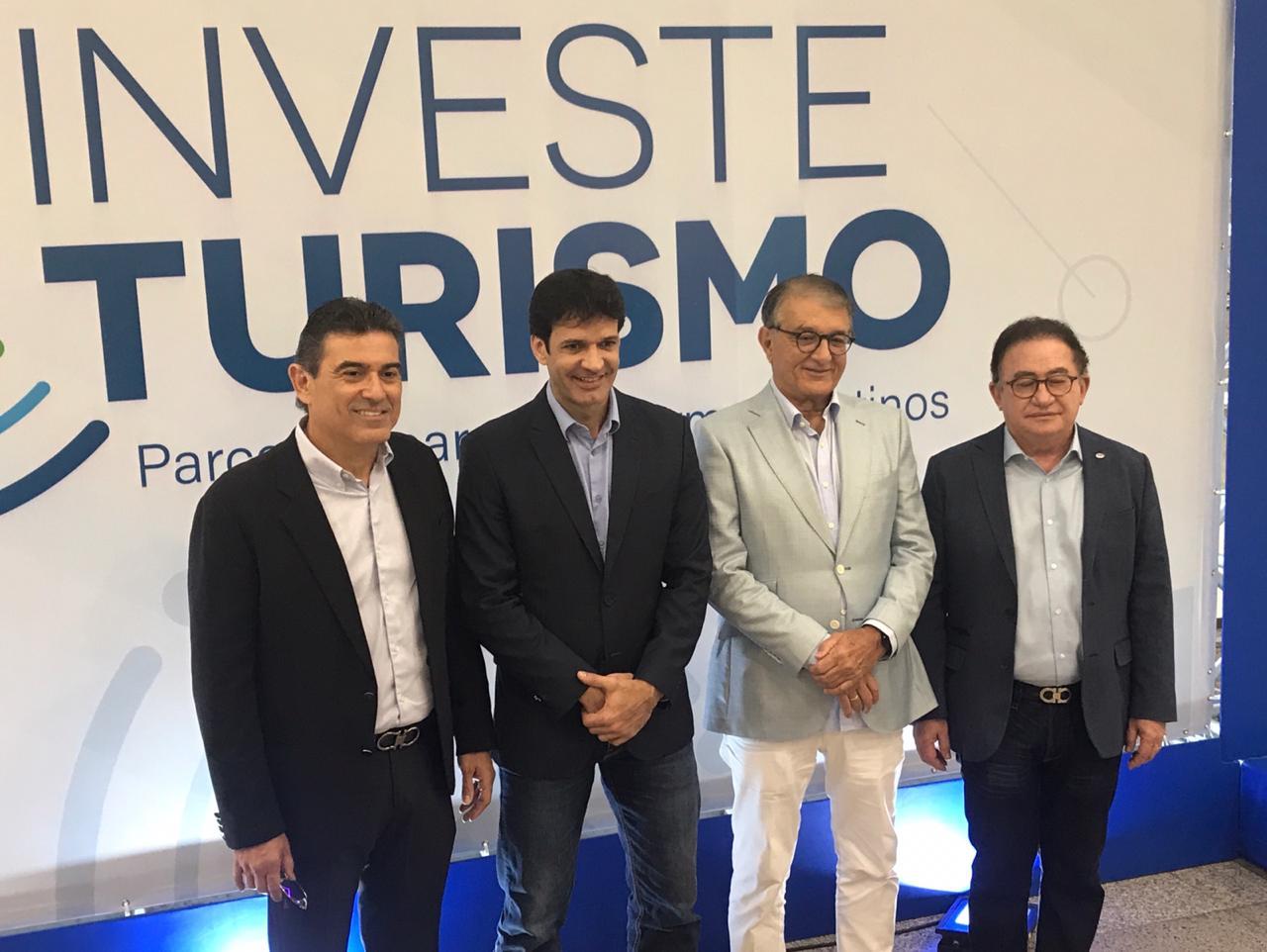 Ministro do Turismo do Brasil vem a Fortaleza lançar o Programa Investe Turismo
