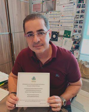 A Medalha Boticário Ferreira vai para Paulo Vieira
