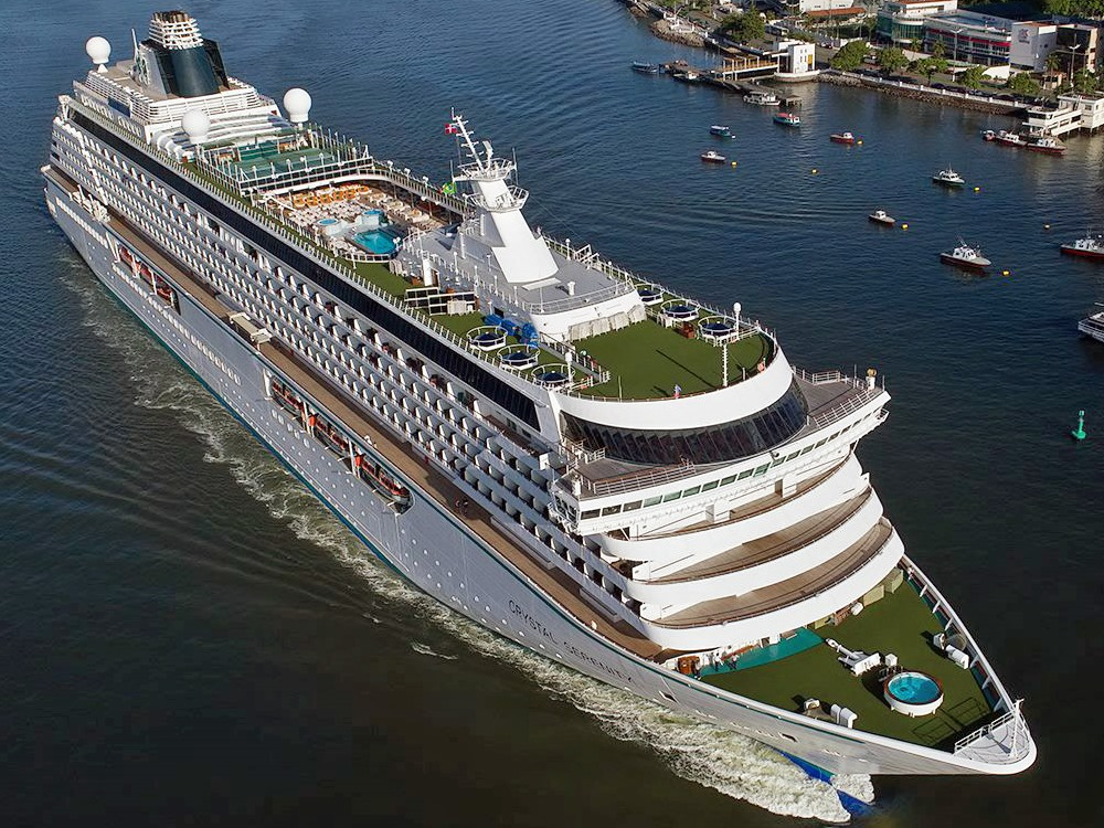 Crystal Serenity: Roma a Roma por Pier 1 Cruise Experts