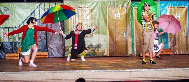 """Theatro Via Sul  – O Musical """"Turma do Chaves num sonho de criança"""""""