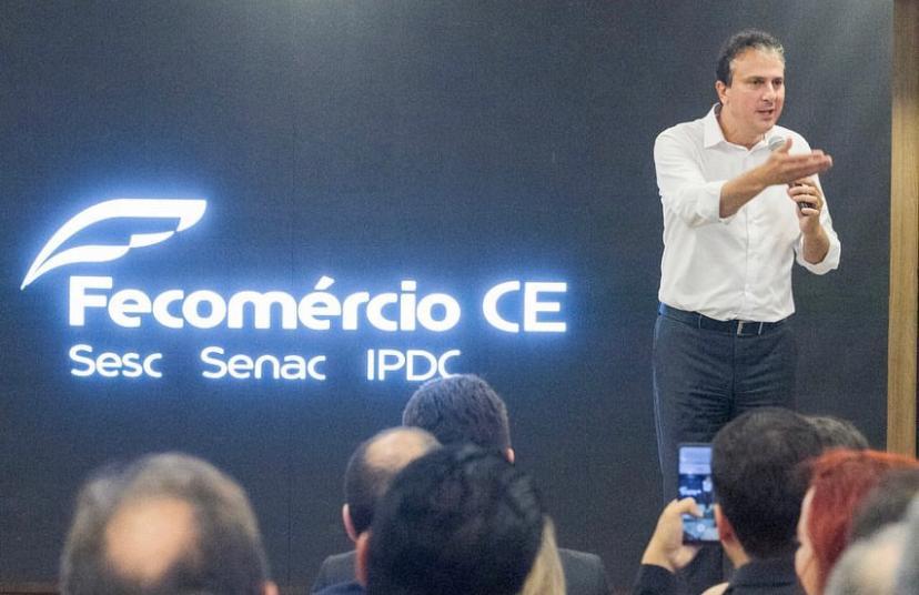 Governador Camilo Santana esteve presente na inauguração do Senac Reference