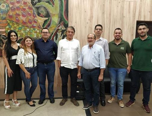 Sec. de Turismo do Ceará recebe integrantes da Rota Mirantes da Ibiapaba