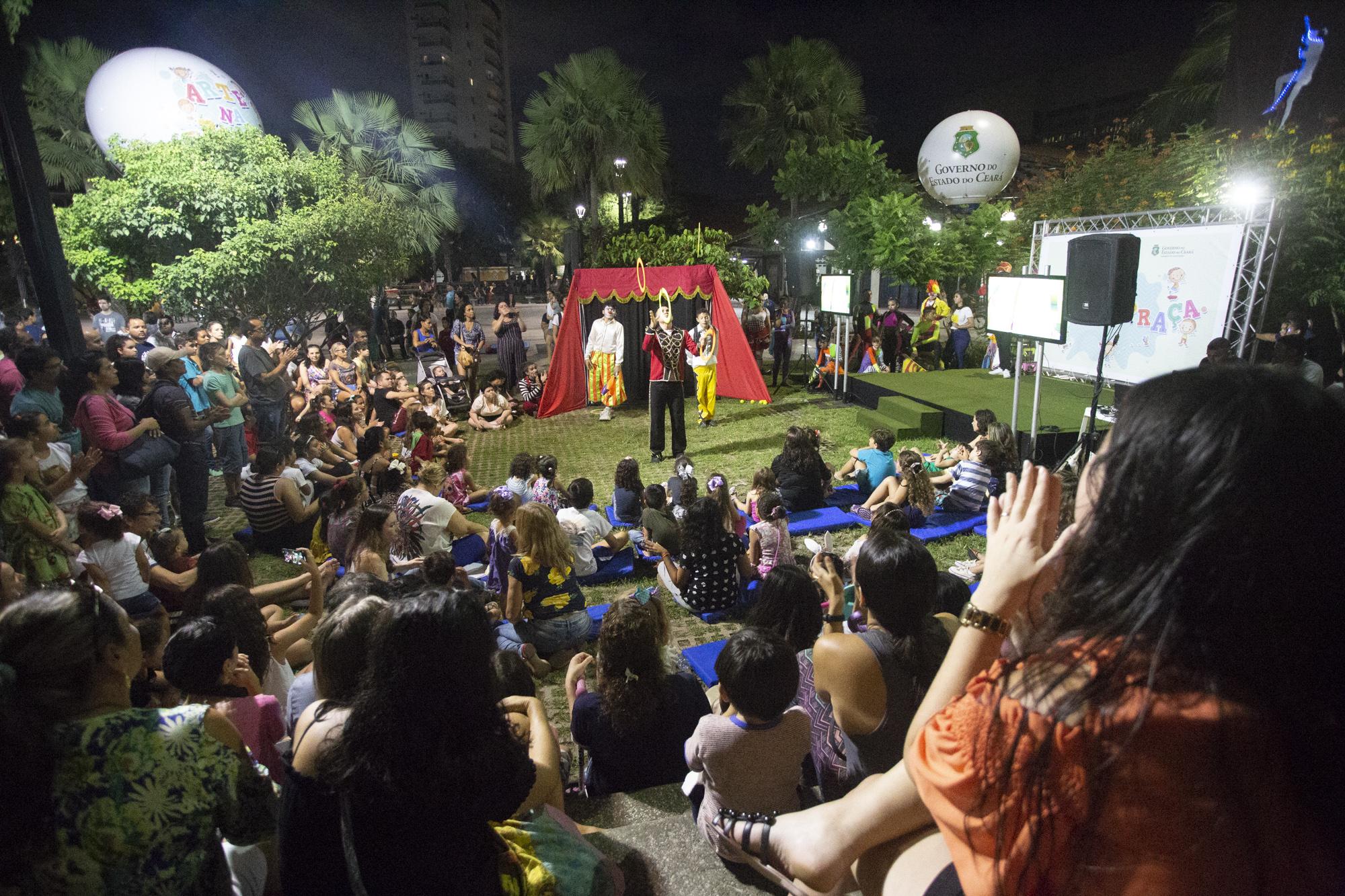 Quatro regiões do Ceará recebem Arte na Praça neste sábado(9)