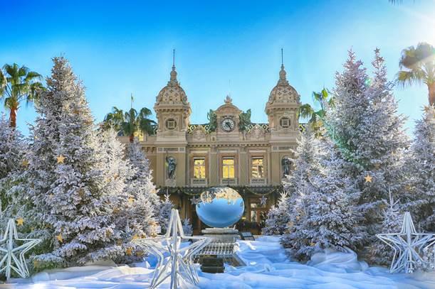 Celebrações de fim de ano na Monte-Carlo Société des Bains de Mer