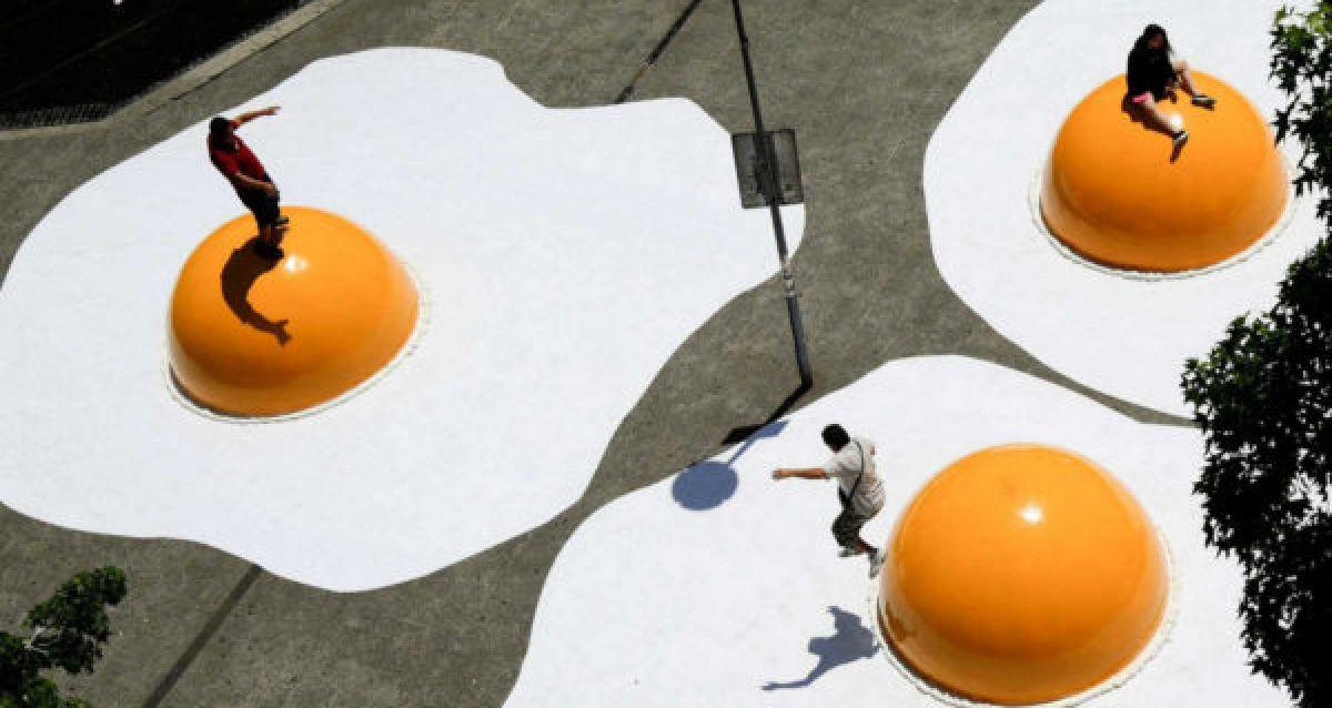 Virada Sustentável ganha instalação do artista holandês Henk Hofstra