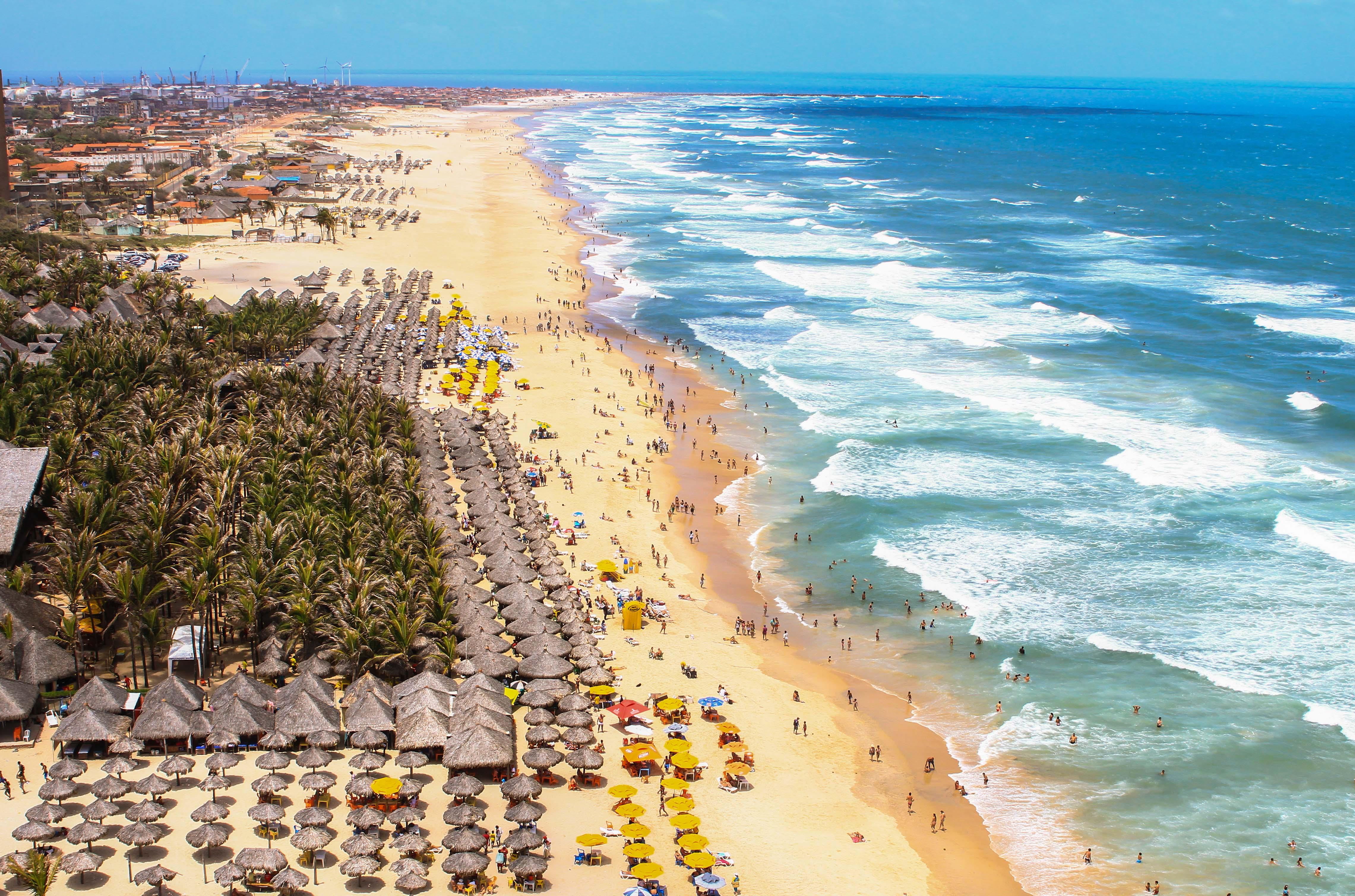Sobem para 20 as praias próprias para banho em Fortaleza