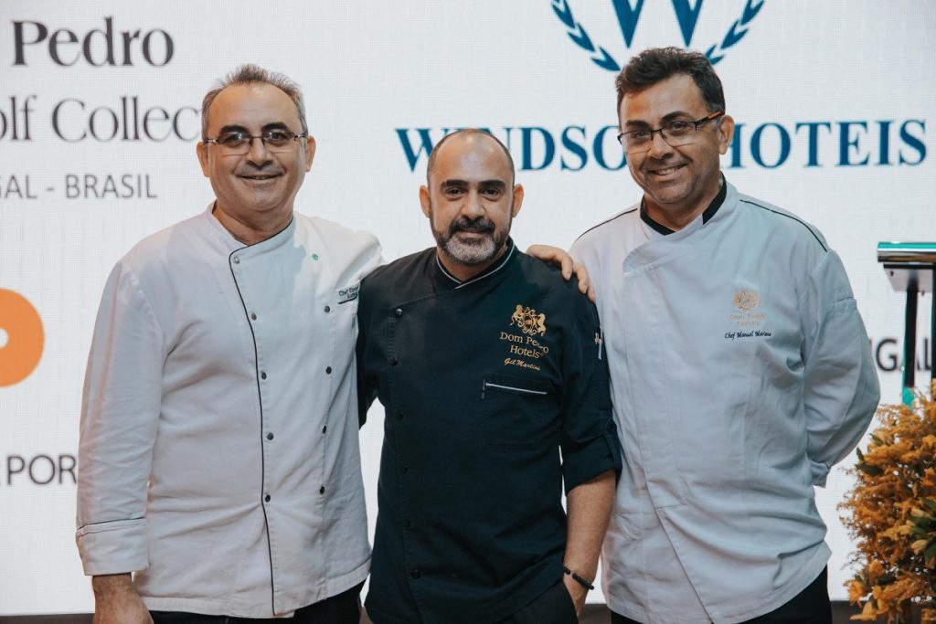 Chef do Dom Pedro Laguna participa de Festival gastronômico portugues