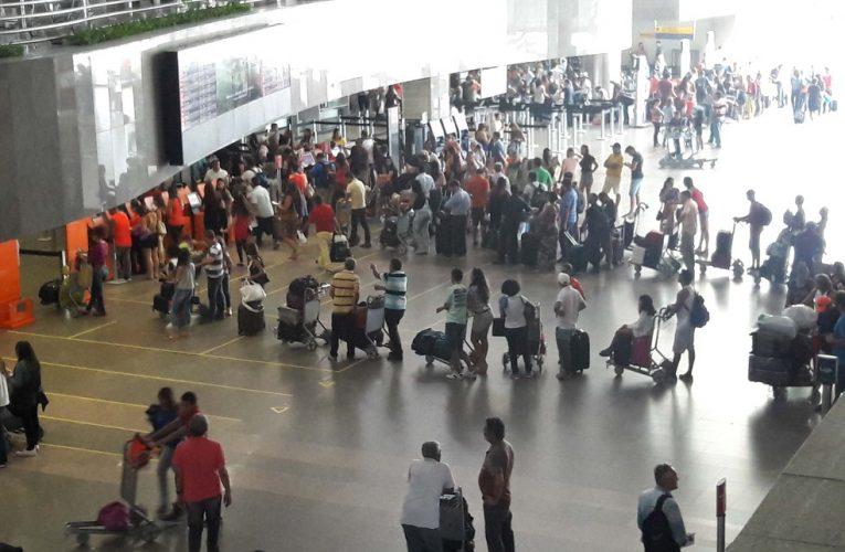 Aeroporto de Fortaleza movimenta 7,2 milhões de passageiros e bate novo recorde