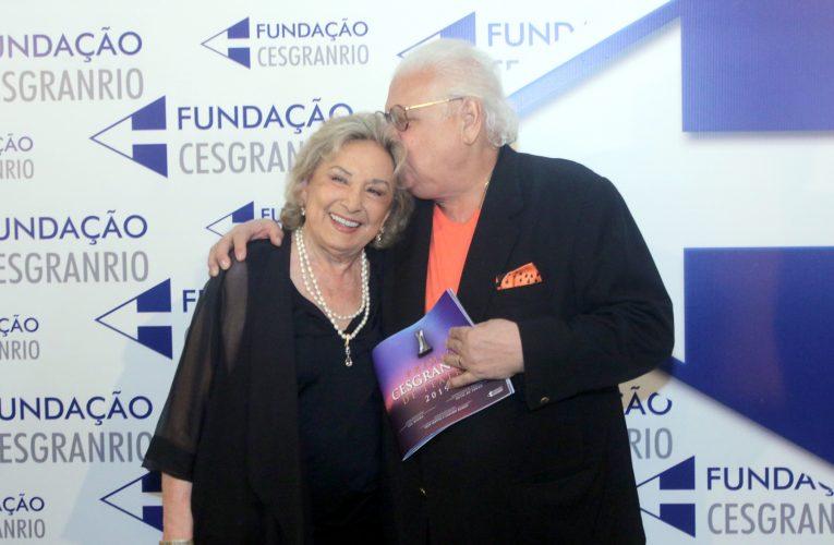 Eva Wilma é homenageada no Prêmio Cesgranrio de Teatro