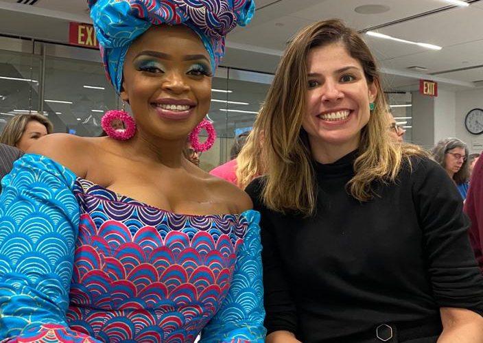Primeira-dama de Fortaleza destaca ações de mobilidade em evento internacional