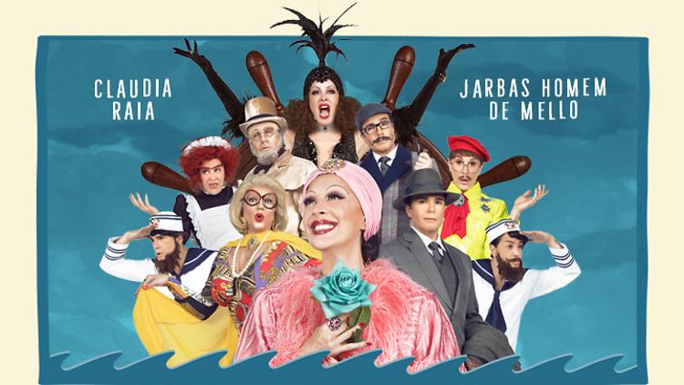 Cláudia Raia percorre Portugal com o espetáculo 'ConSerto Para Dois' com o marido Jarbas Homem de Mello