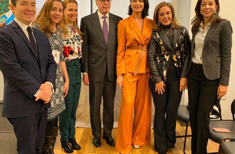 O Consulado-Geral do Brasil em Nova York, recebeu o Grupo Mulheres do Brasil com a presença de Luiza Brunet, Solange Paizante, Michelle Vianna e Isadora Varejão