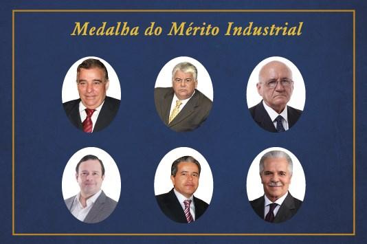 FIEC anuncia personalidades que receberão a Medalha do Mérito Industrial 2019 e 2020