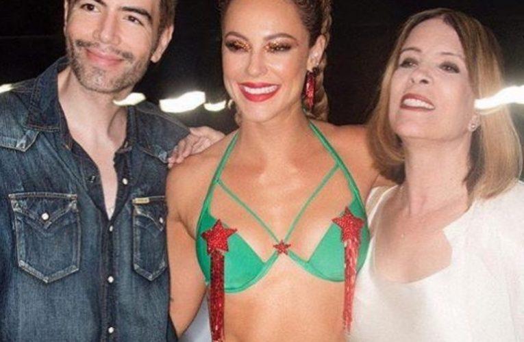 Paolla Oliveira roubou a cena no último ensaio da Grande Rio