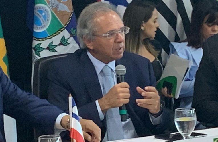 Paulo Guedes participa da Reunião do Consórcio Nordeste
