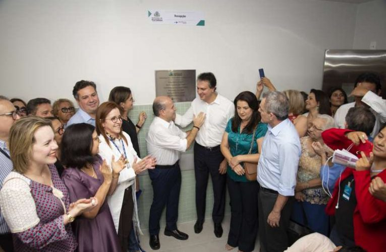 Novo Centro Cirúrgico do IJF é inaugurado pelo Governo do Ceará e Prefeitura de Fortaleza