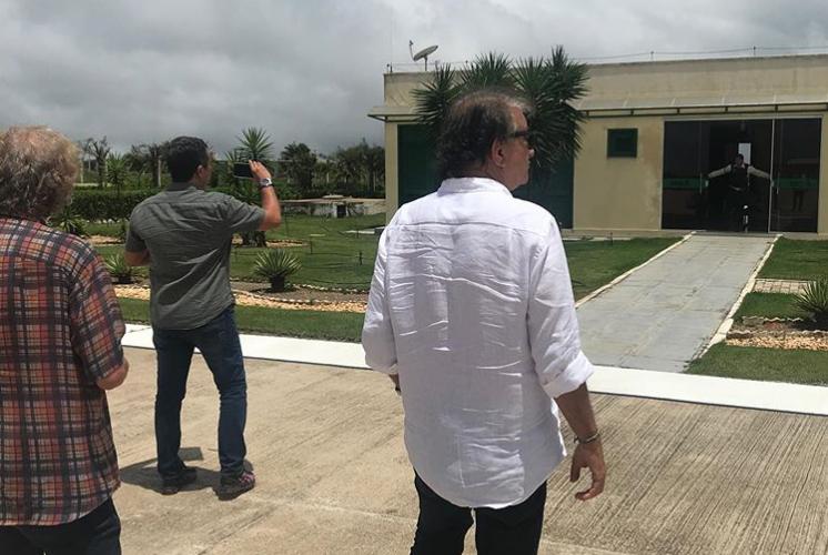 Arialdo Pinho esteve visitando os aeroportos regionais que irão receber os voos da GOL este mês