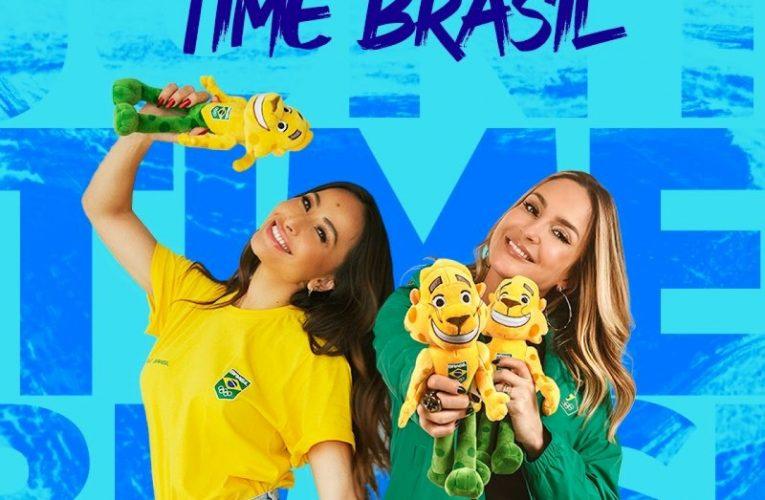 Sabrina Sato e Claudia Leitte são musas da Olimpíada 2020