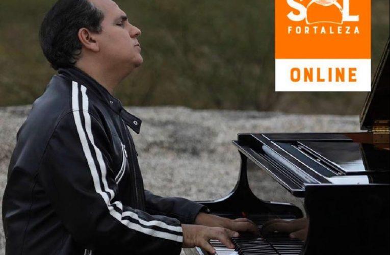 """Edição Especial do projeto """"Piano ao Pôr do Sol"""" trás Ricardo Bacelar com transmissão online direto do Instagram"""