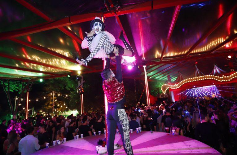 Festa O Circo reune artistas, modelos e Jet Set SP e Rio na Floresta da Tijuca